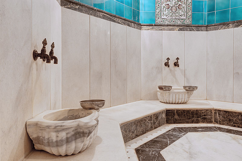 Free Turkish Bath (Stay 4+ days and get free Turkish Bath)